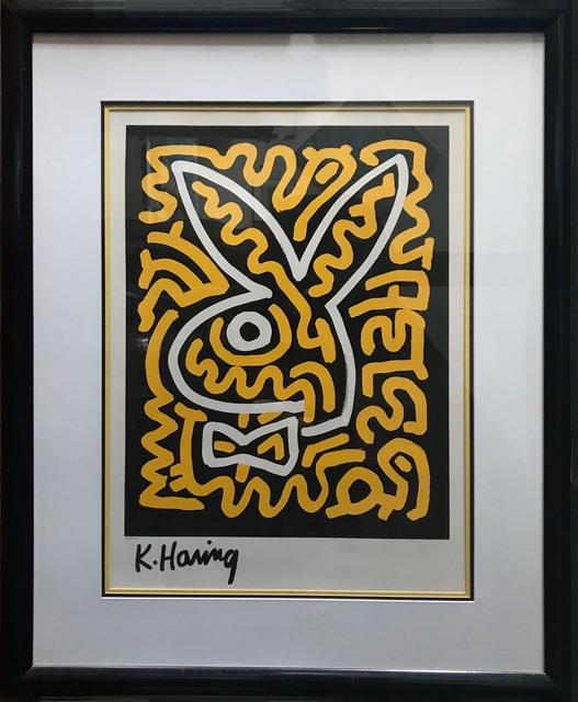 Keith Haring, 'Bunny no. 2', 1990, Judy Ferrara Gallery