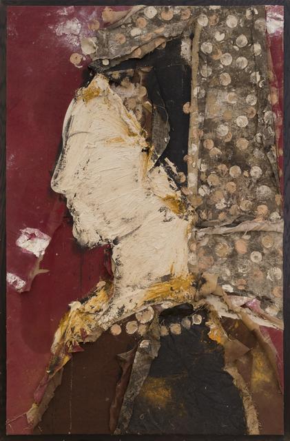 , 'Perfil con Mantilla Bordada,' 2013, Contini Art Gallery