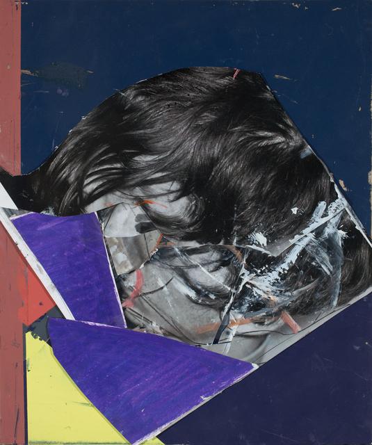 Alexander Tinei, 'Head in colors', 2018, Galleria Doris Ghetta