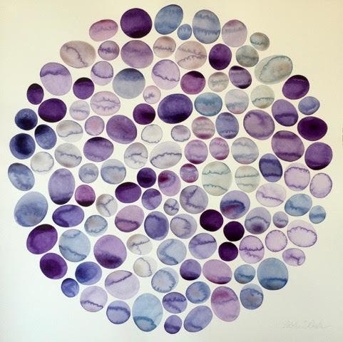 Idoline Duke, 'Purple Pools', 2017, ARC Fine Art LLC