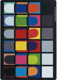 Color Rendition Chart Thursday 28 March 2013 2:44PM