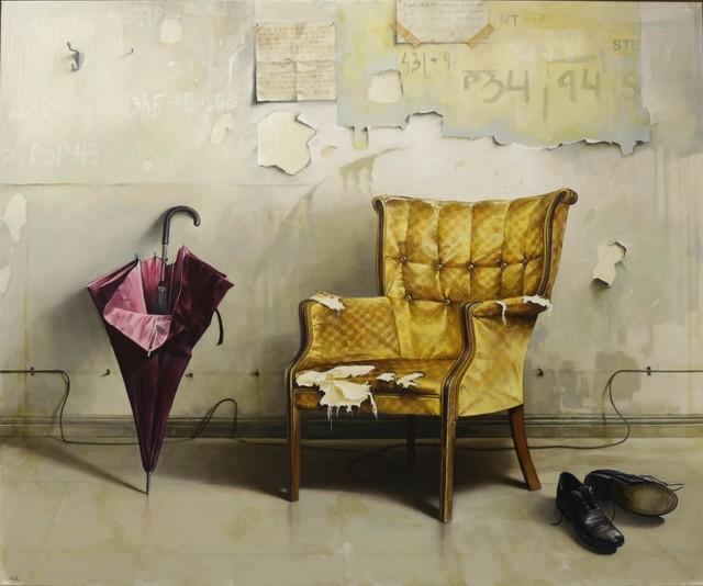 , 'Chair and Umbrella,' 2016, Dan Gallery