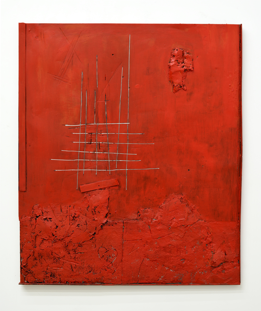 , 'Contemporary Ruin (Red Painting),' 2018, Mugello Gallery