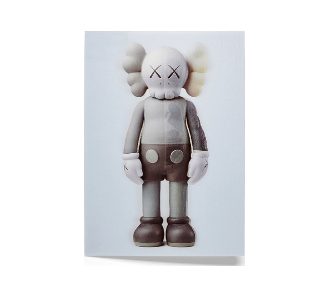 KAWS, 'KAWS x NGV Lenticular Postcard (Grey)', 2019, Curator Style