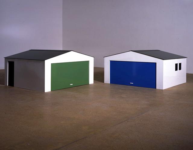 Julian Opie, 'Garage?', 2004, Beyer Projects