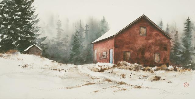 William Matthews, 'Blue Door', 2017, William Matthews Studio
