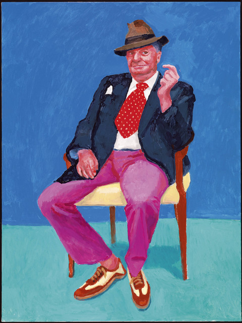 ", '""Barry Humphries, 26th, 27th, 28th March 2015"" from ""82 Portraits  and 1 Still-Life"",' 2015, Guggenheim Museum Bilbao"