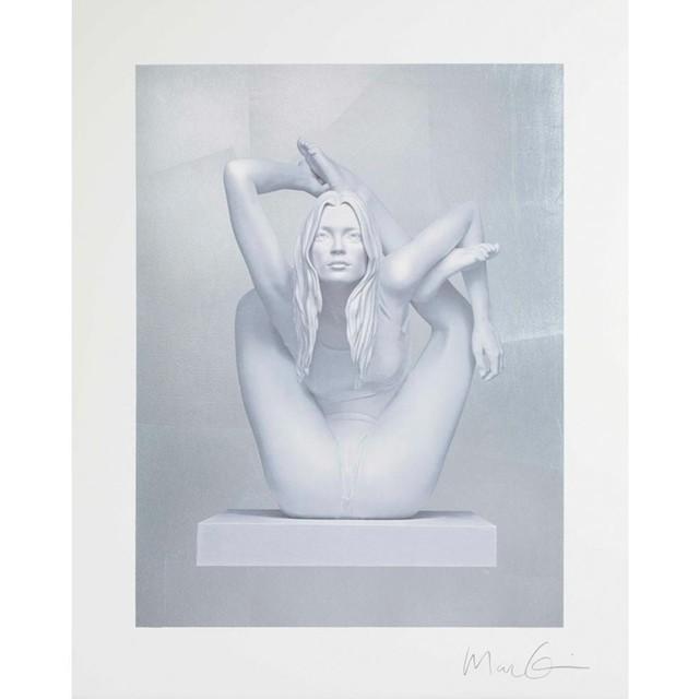 Marc Quinn, 'Sphinx (silver leaf)', 2011, Kunzt Gallery