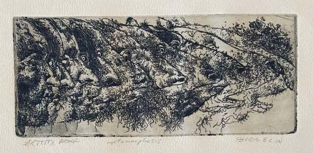 Robert Birmelin, 'Metamorphosis', 20th Century, Print, Etching, Lions Gallery