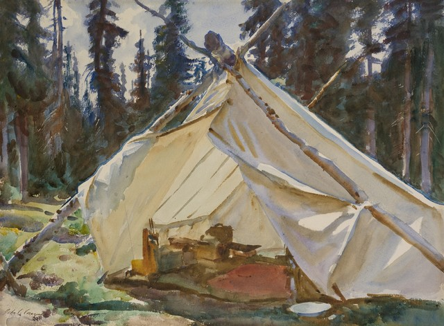 , 'A Tent in the Rockies,' 1916, Philadelphia Museum of Art