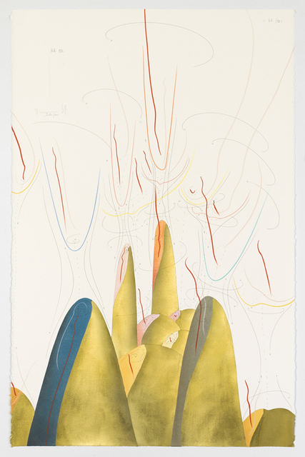 Jorinde Voigt, 'Hills XVII', 2017, David Nolan Gallery