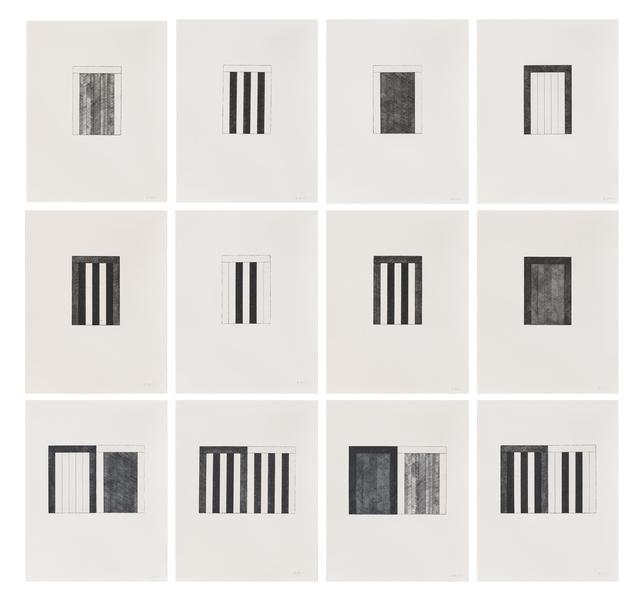 , '12 Views for Caroline Tatyana,' 1989, Susan Sheehan Gallery