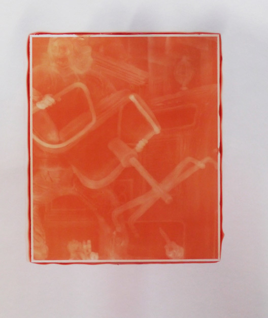 Henry Hudson, 'Woodburytype Print of Study Plate 3, Protest - (orange)', 2015, TJ Boulting