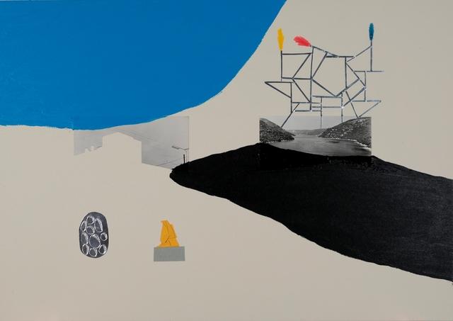 , 'Black lake Silver construction,' 2018, Galerie Ernst Hilger