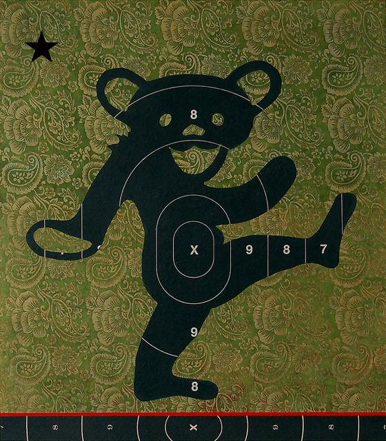 , 'Dancing Bear with North Star,' 2014, Robert Berman Gallery