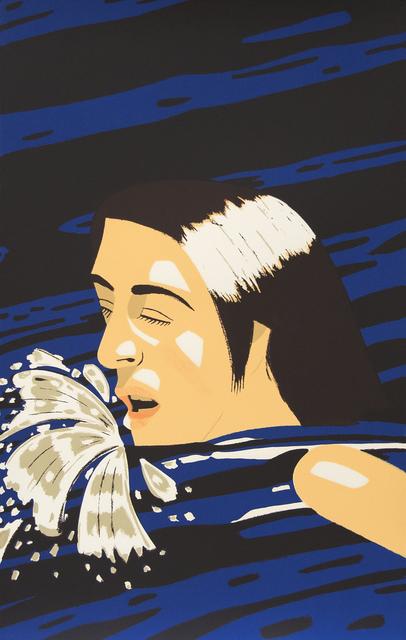 Alex Katz, 'Olympic Swimmer', 1976, Heather James Fine Art: Benefit Auction 2019