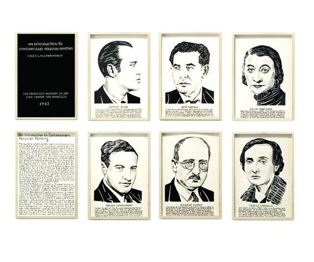 , 'Introduction to Contemporary Peruvian Painting, 1942, San Francisco Museum of Art,' 2016, Galería Lucia de la Puente