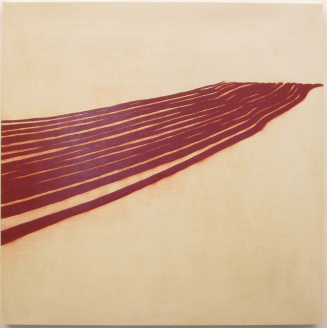 , 'red furrows,' 2014, Sears-Peyton Gallery