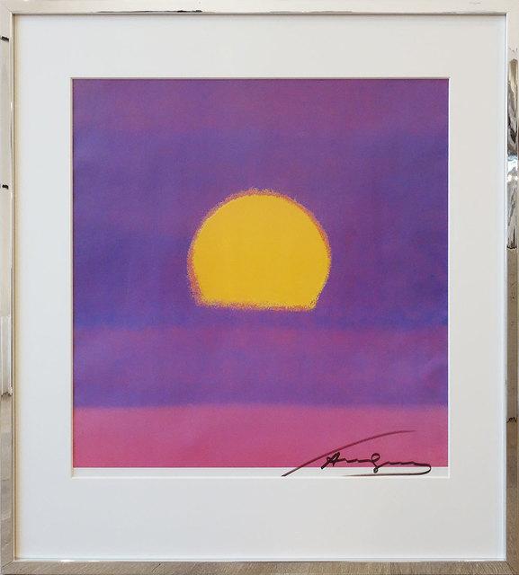 Andy Warhol, 'Sunset', 1980, Print, Offset on paper, Galerie Kellermann