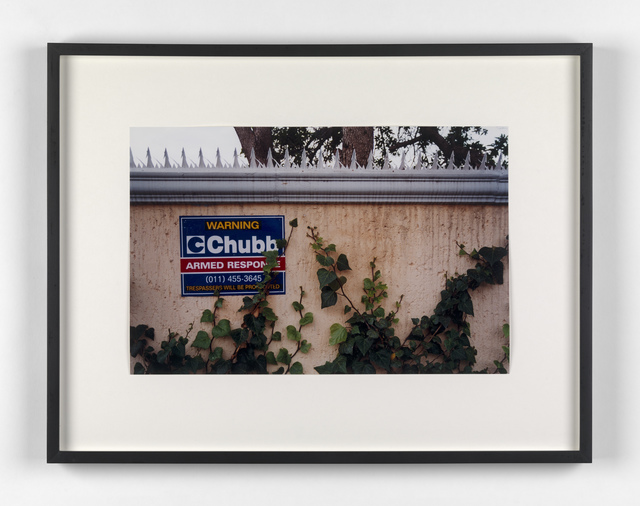 Kendell Geers, 'Suburbia 8', 1999, Stephen Friedman Gallery