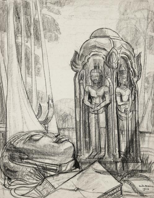 , 'Angkor,' 1956, Galerie Dumonteil