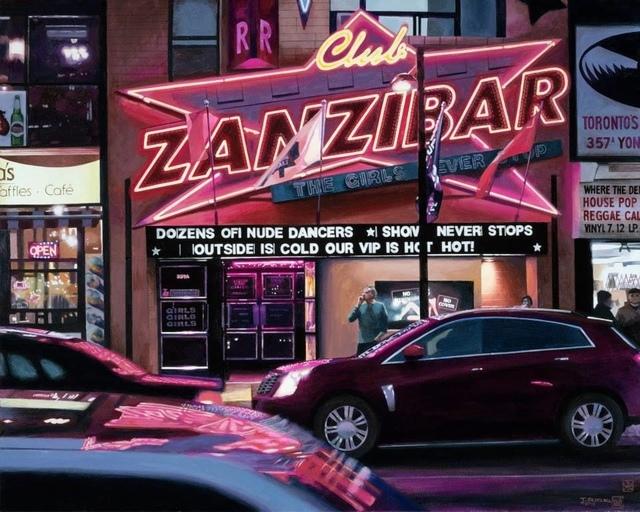 , 'Club Zanzibar, Neon Studies,' 2014, Plus One Gallery