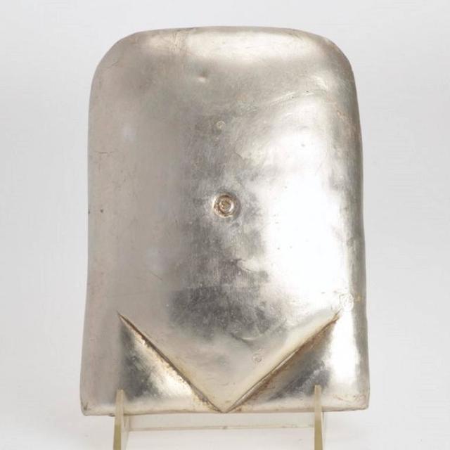 Xawery Wolski, 'Silver Torso Polish French Modern Gilt Sculpture', 20th Century, Lions Gallery