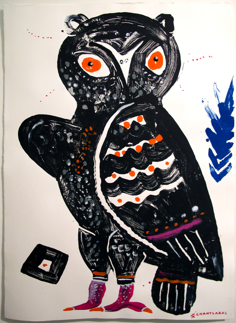 , 'Owl # 4 - The Wise Guys,' 2017, DECORAZONgallery