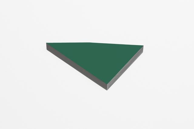 , 'O.T. helio green,' 2013, Galeria Raquel Arnaud