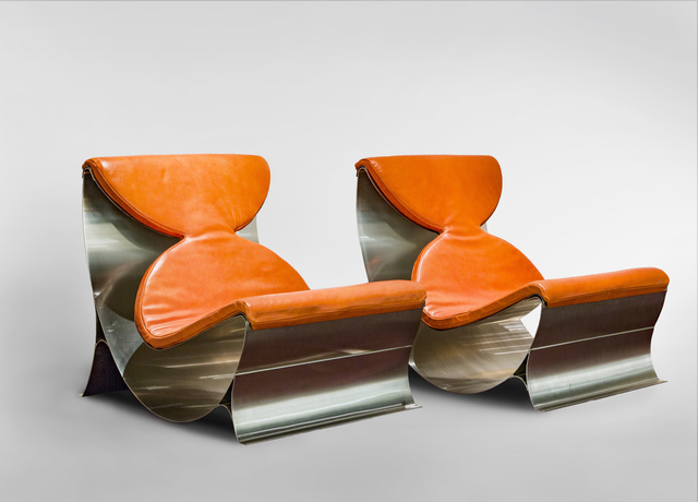 , 'Pair of Lounge Chairs,' 1970, Demisch Danant