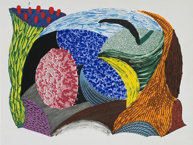 David Hockney, 'Blue Hang Cliff', 1993, Kenneth A. Friedman & Co.