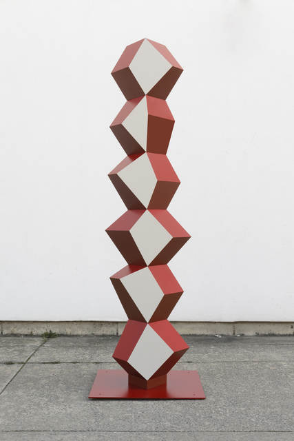 Angela Bulloch, 'Heavy Metal Stack of Six: How Now?', 2019, Simon Lee Gallery