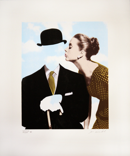 , 'Kissing Magritte II,' 2014, Jealous Gallery