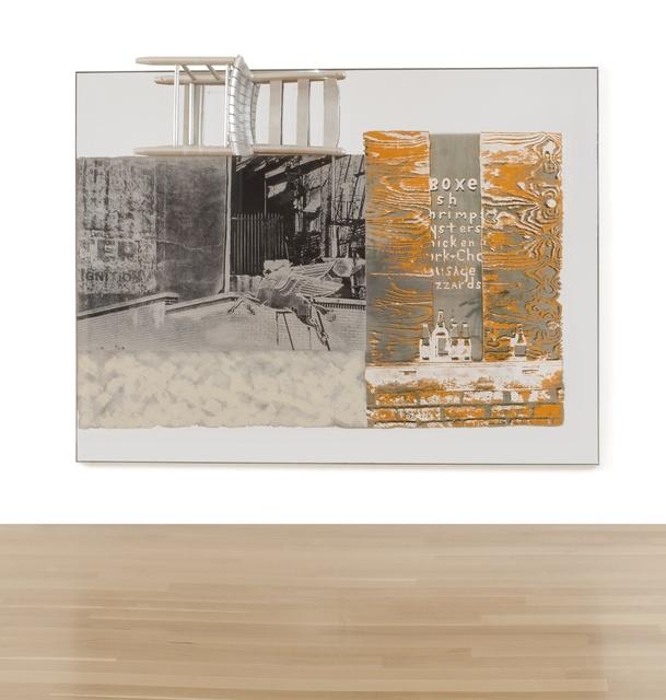 Robert Rauschenberg, 'Pegasits/ROCI USA (Wax Fire Works)', 1990, Sotheby's