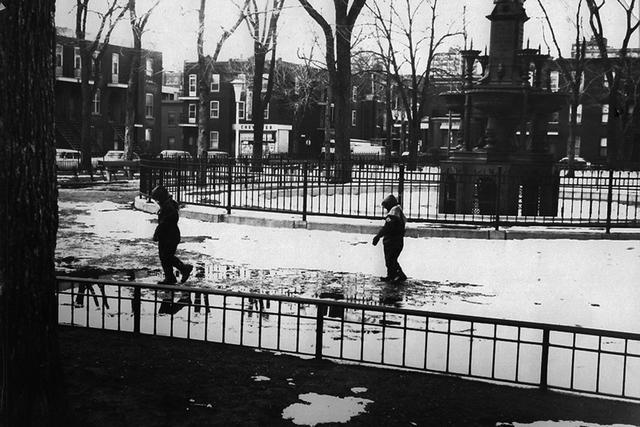 , 'Enfants dans le Parc,' 1969, The Print Atelier
