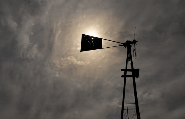 , 'Abandoned windmill, Bates Well, Cabeza Prieta,' 2013, Pace/MacGill Gallery