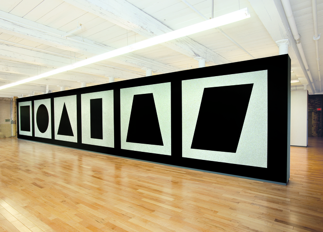 , 'Wall Drawing #343,' 1980, MASS MoCA