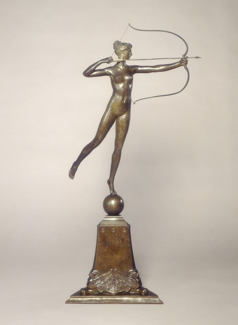Augustus Saint-Gaudens, 'Diana of the Tower', Conceived 1892/1893; cast 1899, National Gallery of Art, Washington, D.C.