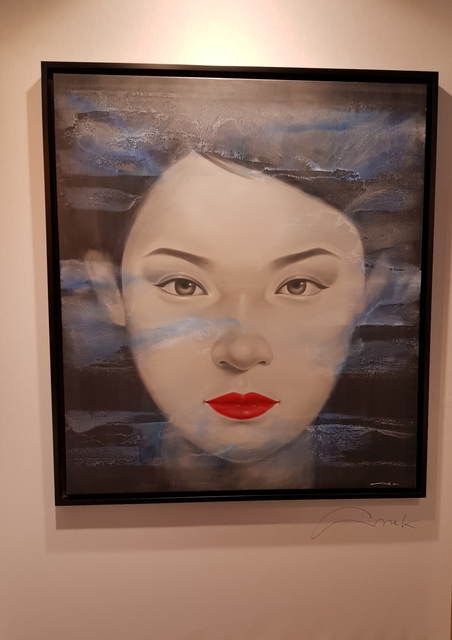 , 'Ethereal Blue ,' 2018, Asiart Gallery
