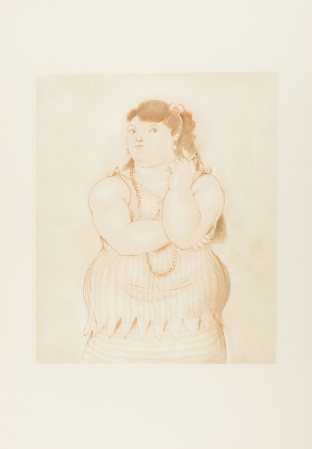 Fernando Botero, 'Mujer Fumando', 1965, Forum Auctions
