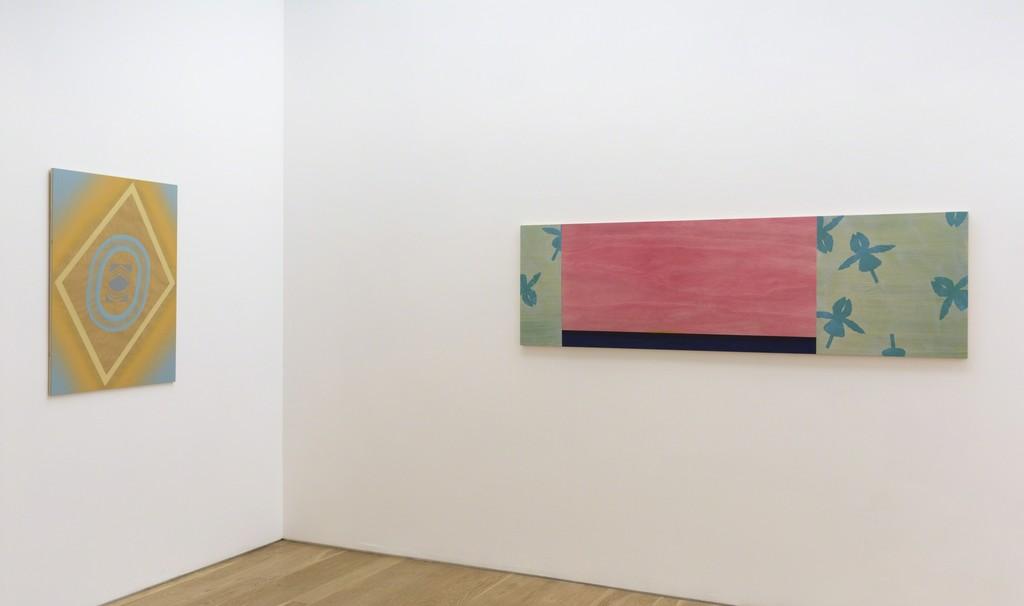 "Installation view of ""Billy Al,"" at Samuel Freeman, 2016."