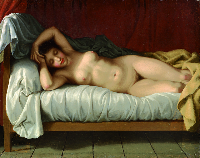 , 'Reclining Model,' 1810-1813, Statens Museum for Kunst