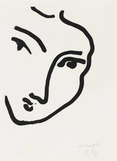 Henri Matisse, 'Nadia au menton pointu', 1948, Christie's