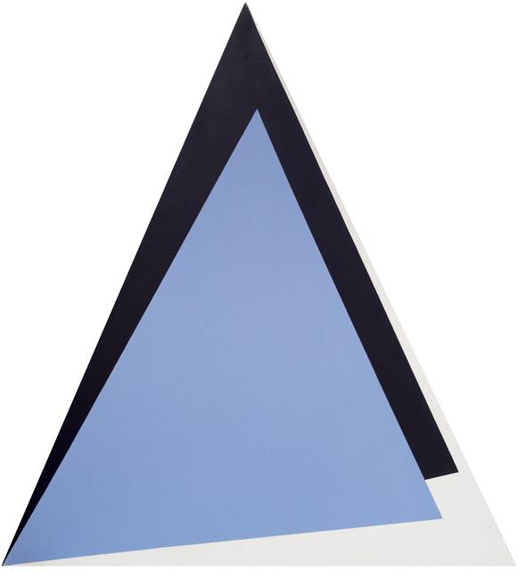 , 'Triangulo roxos,' 1987, GALERÍA JOSÉ DE LA MANO