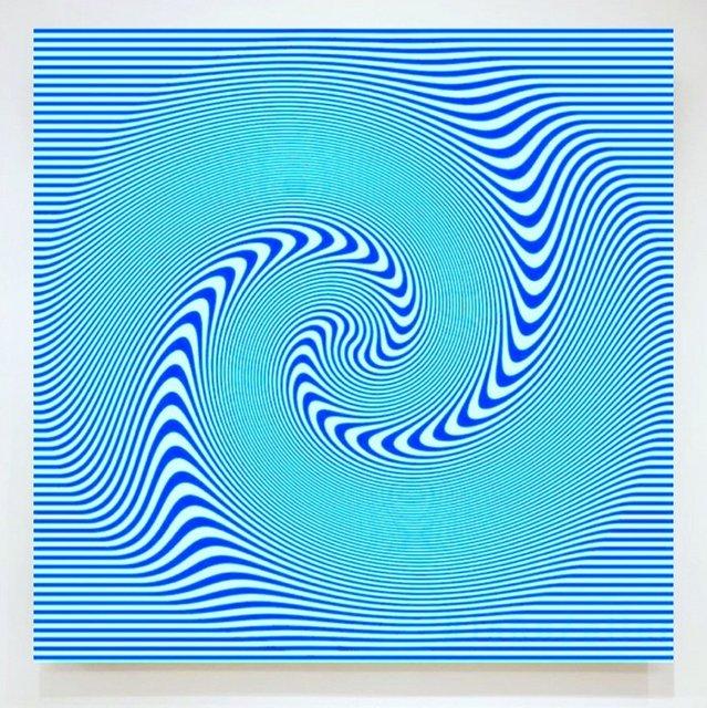 John Zoller, 'John Zoller, Blue Spiral Galaxy', 2018, Oliver Cole Gallery