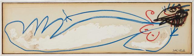 Antonio Saura, 'Nudo Disteso (Lying Nude)', 1958, Phillips