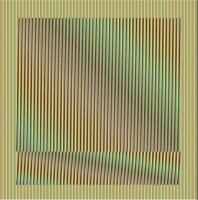 """, '""""Induction Chromatique à Double Fréquence"""" Série ORINOCO,' 2019, Vertu Fine Art"""