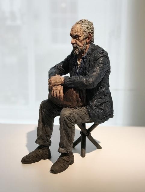 , 'Maquette for Seated Figure,' 2018, Osborne Samuel