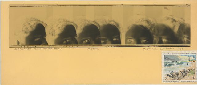 , 'Margaret Turning Her Head,' 1965, Bruce Silverstein Gallery