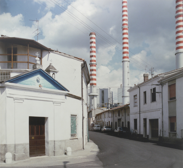 , 'Ostiglia (Serie: Il profilo delle nuvole),' 1985-1989, Mai 36 Galerie